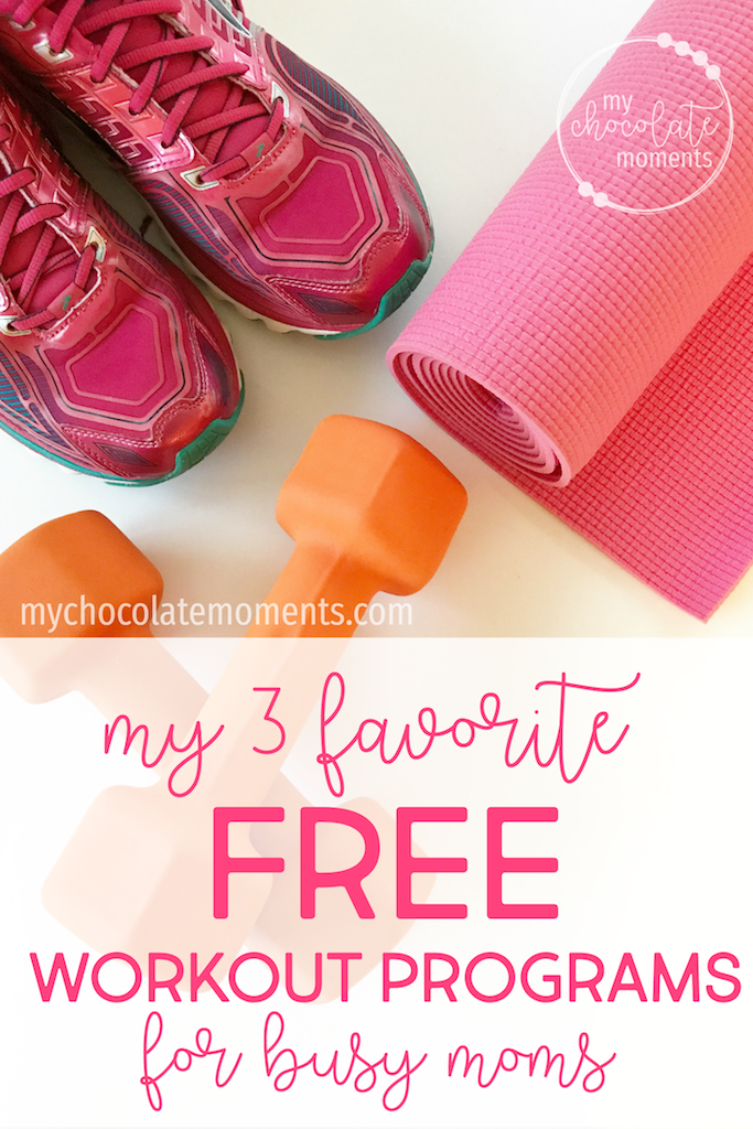 my 3 favorite free workout programs | exercise | health | workout | bikini body mommy | fitness blender | couch to 5k