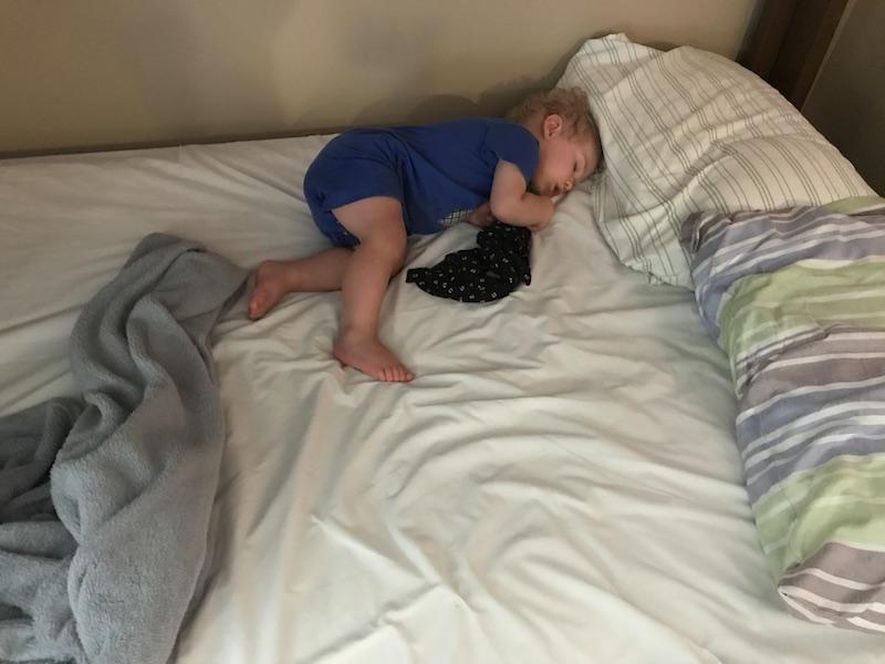 napping at church camp