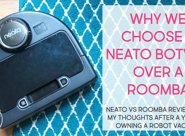 Neato vs Roomba robot vacuum review: why we chose a Neato