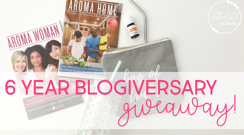 six year blogiversary giveaway