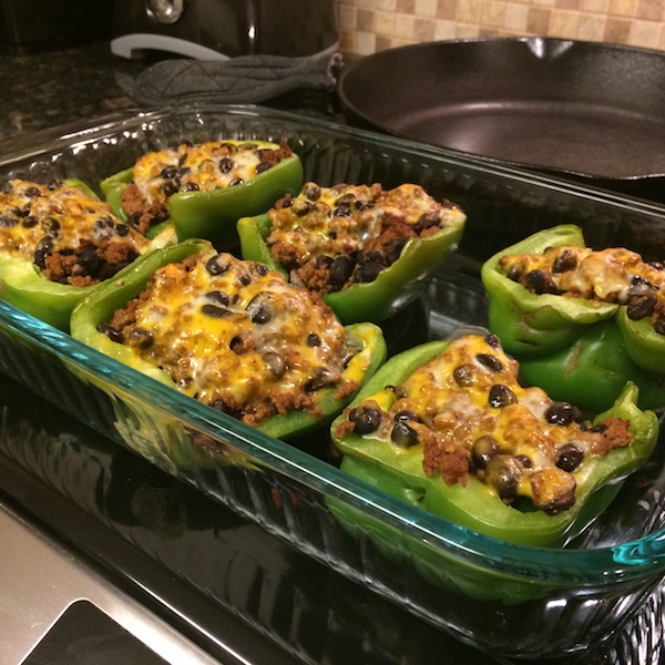 stuffed peppers - Trim Healthy Mama S