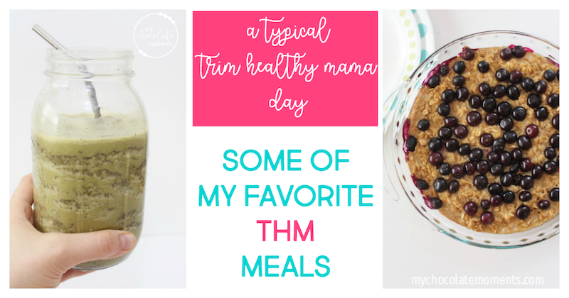 typical trim healthy mama day
