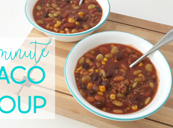 Ten Minute Taco Soup Recipe