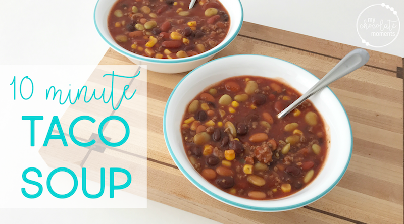 Ten Minute Taco Soup Recipe