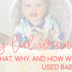 Baby Led Weaning basics: what, why, and how we never used baby food