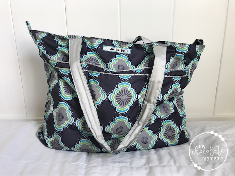 What's in my JuJuBe Super Be diaper bag?