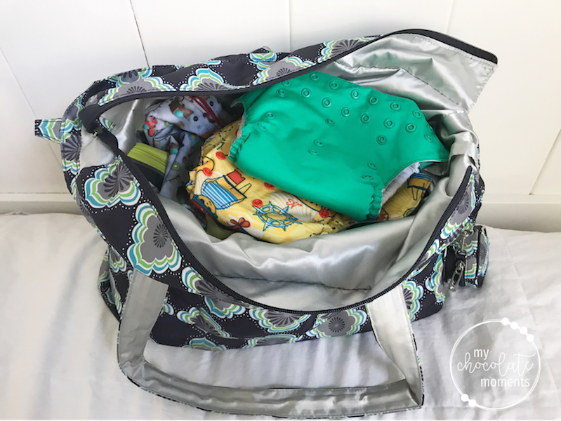 What's in my diaper bag? JuJuBe Super B