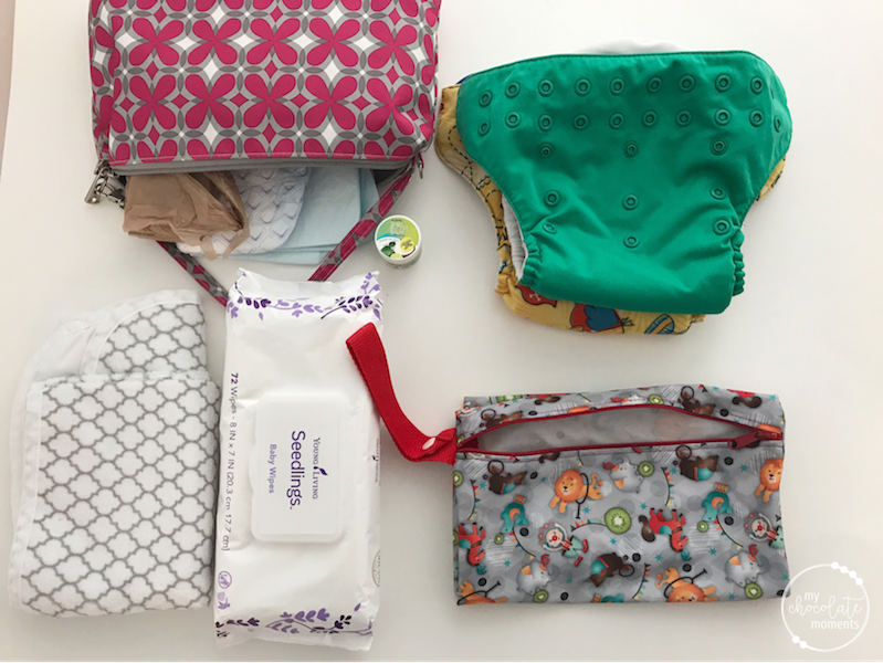 What's in my diaper bag? diapering essentials