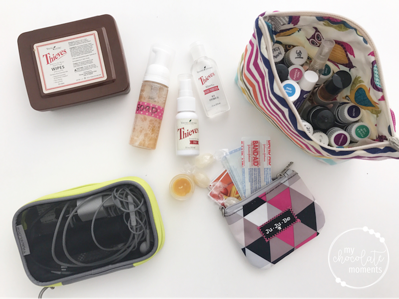 What's in my diaper bag? first aid and cleaning
