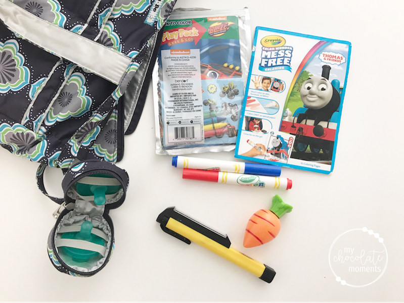 What's in my diaper bag? toys