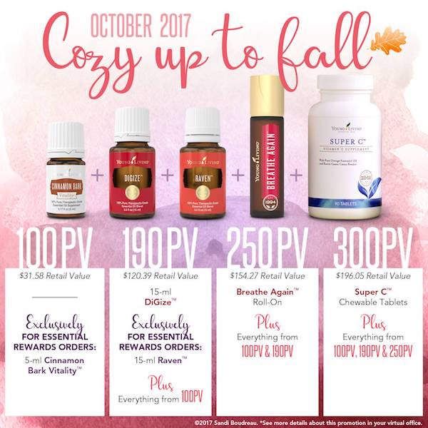 Young Living promo October
