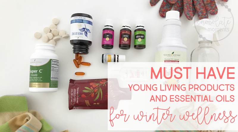 My top 11 Young Living products and essential oils for winter wellness