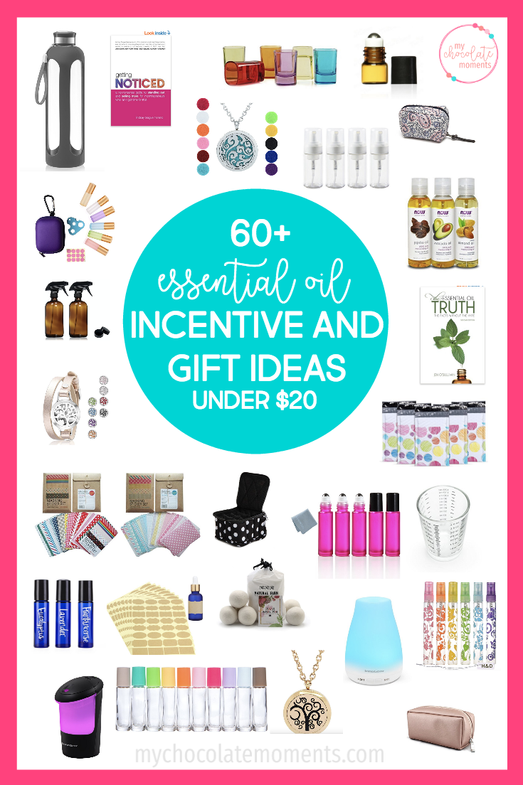 60+ essential oil incentive ideas from Amazon under $20 | #youngliving #essentialoils #amazon #momboss #mlm #directsales #doterra