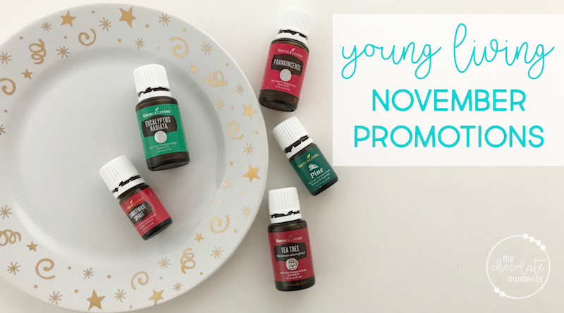Young Living November promotions 2017