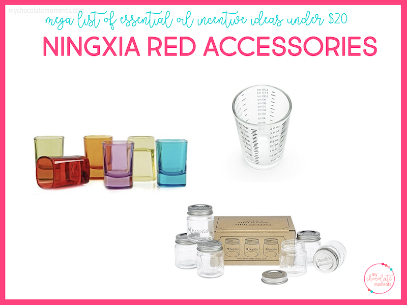 essential oil incentive ideas - Ningxia Red accessories