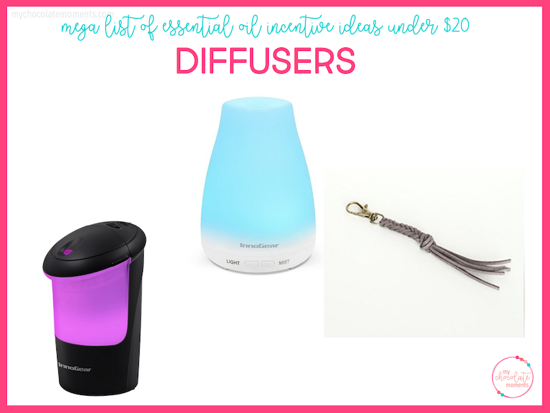 essential oil incentive ideas - diffusers
