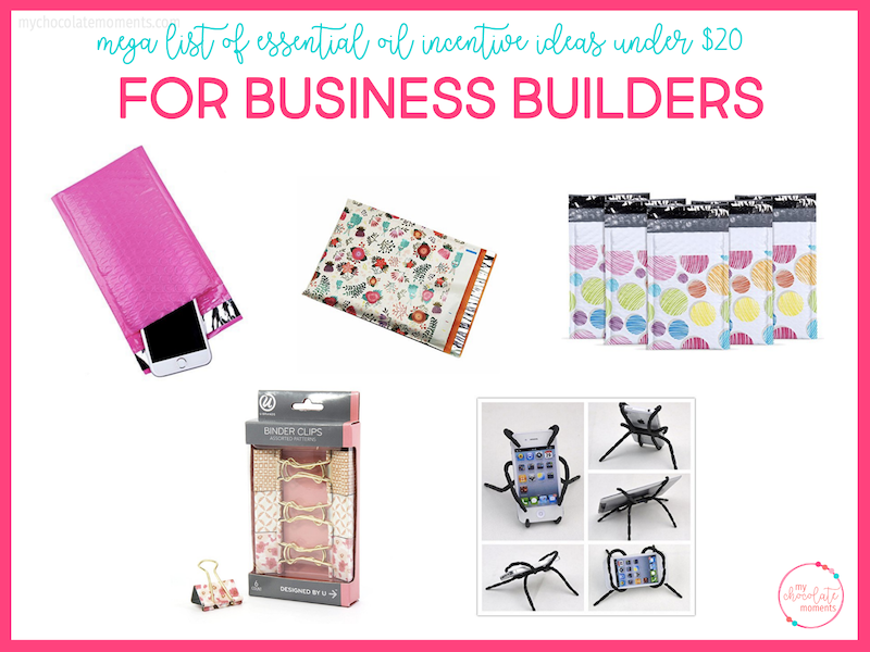essential oil incentive ideas for business builders