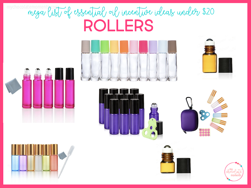 essential oil incentive ideas - rollers