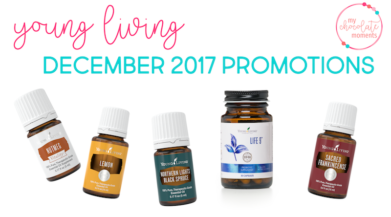 Young Living's December 2017 Promotions