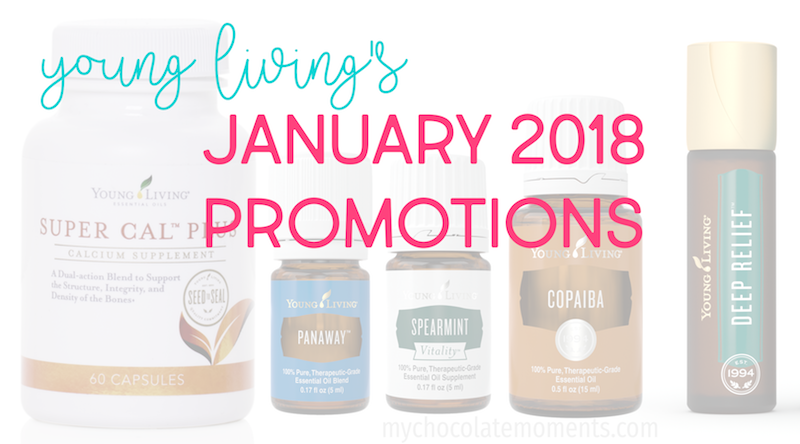 Young Living's January 2018 Promotions