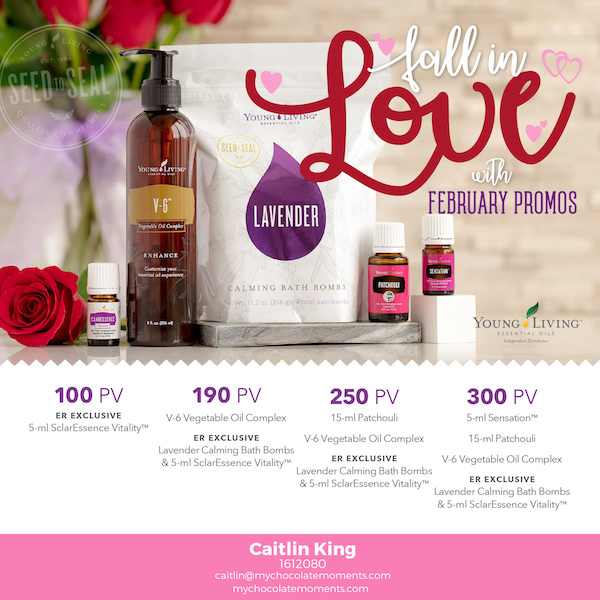 USA Young Living February 2018 promotions