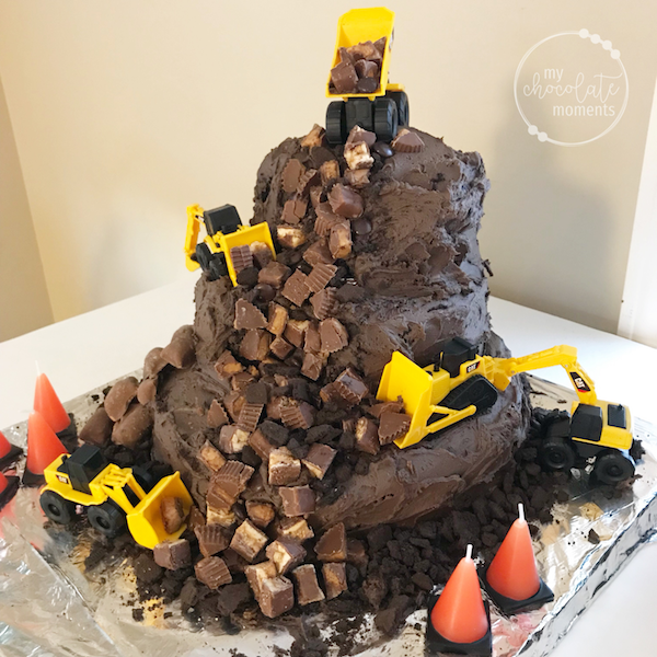 Construction Birthday Party Food Cake And Decoration Ideas