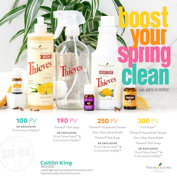 Mar 446 Advertising And Promotions: Young Living March 2018 Promotions